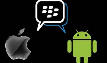 bbm for android bbm for iphone is out - India TV