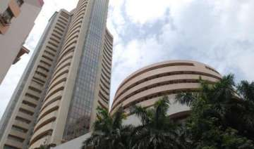 bse sensex up 21 pts as tata consultancy services...