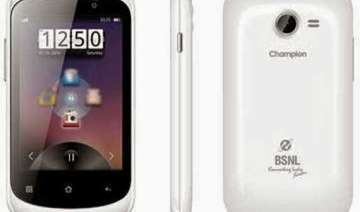 bsnl unveils smart phone for common man - India TV