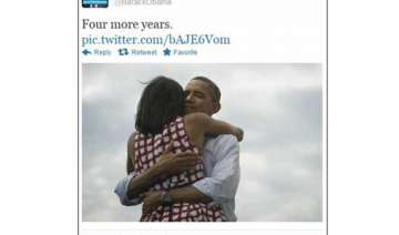 barack obama announces four more years with tweet...