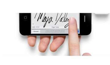 digital signatures for mobiles become a reality...