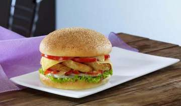 dunkin donuts introduces its range of burgers in...