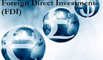 fdi in services sector drops 54 in 2013 14 -...