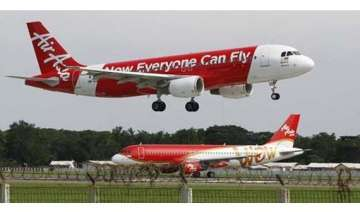 first aircraft of airasia india lands in chennai...