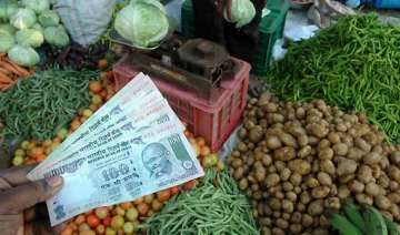 food inflation down to 4 yr low of 4.35 all eyes...