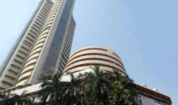 sensex surges 218 pts in early trade on positive...