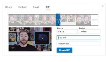 youtube will soon allow you to make gifs from...
