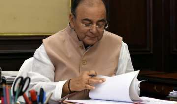 arun jaitley begins pre budget consultations with...