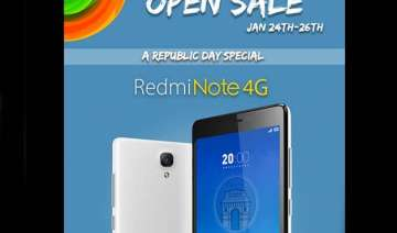 xiaomi redmi note 4g available this weekend...