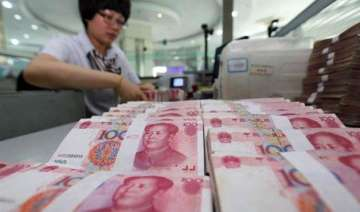 chinese currency continued sharp fall on third...