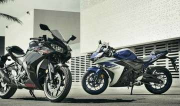 yamaha launches sports bike yzf r3 at rs 3.25...