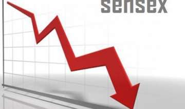 sensex off record high falls 58 points in early...