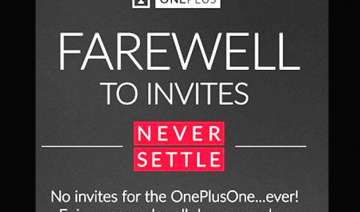 oneplus one smartphone now available without...