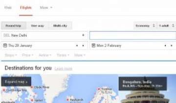 google launches its flight search tool for india...