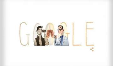 google doodle pay tribute to stethoscope inventor...
