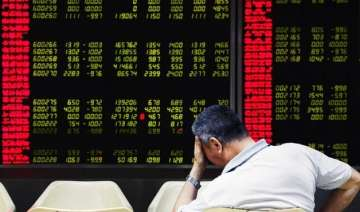 chinese shares crash for the 2nd day falls below...