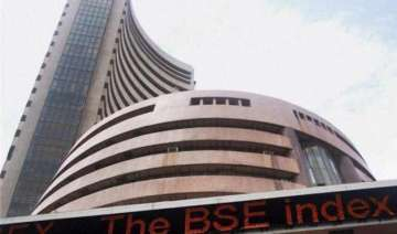 sensex begins new fiscal on positive note gains...
