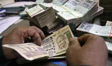 rupee slips from initial gains drops 15 paise...