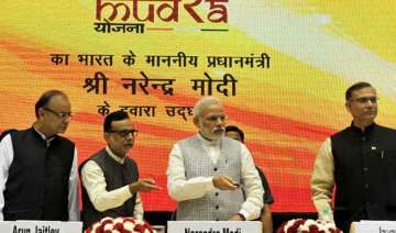 narendra modi launches rs 20 000 crore mudra bank...
