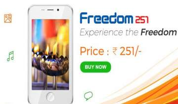 freedom 251 after crash website says we will...