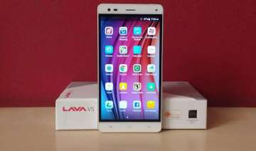 with amazing camera solid design lava v5 unboxing...