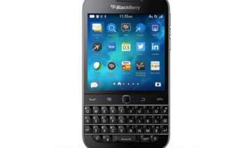 an iphone user tries the blackberry classic has...