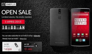 oneplus one available invite free today - India TV
