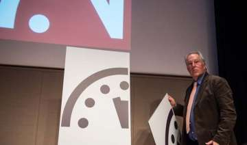 the doomsday clock is ticking again. it is now...