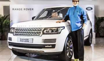 amitabh bachchan gets new land rover - India TV