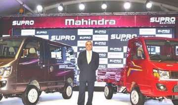 mahindra unveils two vehicles from new supro...