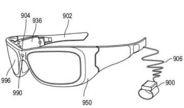 microsoft patents smartglasses that can read...