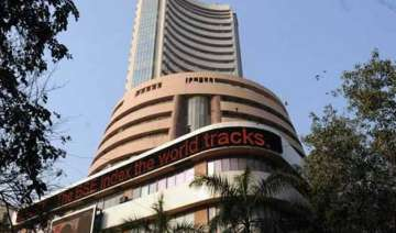 sensex climbs 340 points in early trade on easing...