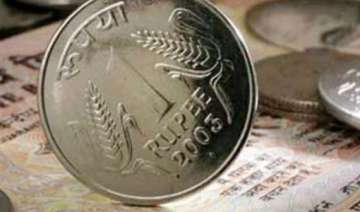 rupee down 22 paise against dollar in early trade...