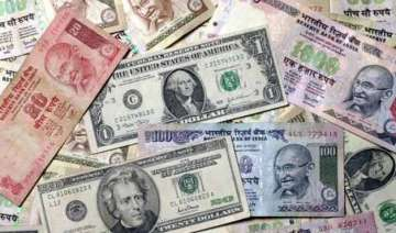 rupee drops 34 paise to one week low at 66.48...