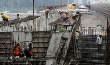 may infrastructure output growth slows to 2.3 -...