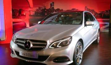 mercedes benz launches new e class sedan at rs...