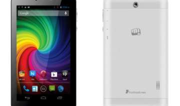 micromax launches dual core voice calling funbook...