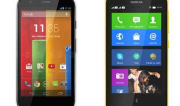 moto g vs nokia x a comparison - India TV
