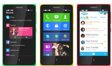 nokia x android smartphone launched at rs 8599 -...