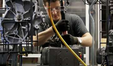 private sector output contracts for first time...