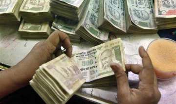 rupee hits over one month high ends 10 paise up -...