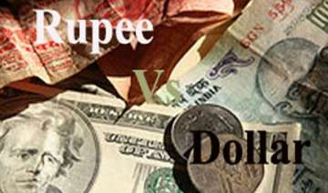 rupee down 16 paise vs dollar snaps two sessions...