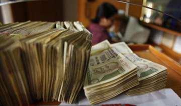 rupee at 2 month high of 50.73/74 vs dollar up 64...