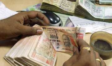 rupee declines 33 paise against us dollar in...