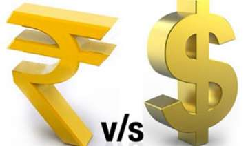 rupee falls to all time closing low of 57.15...