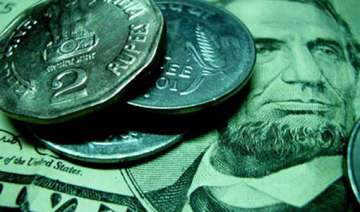rupee up 16 paise at 55.95 against dollar - India...