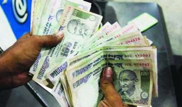 rupee up by 12 paise against us dollar - India TV