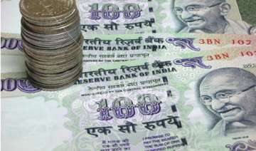 rupee ends at nearly 4 mth low vs dollar down 19...