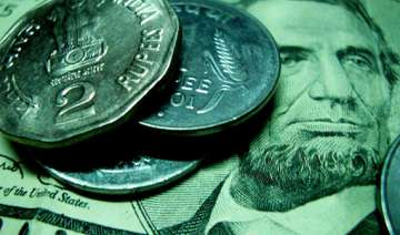 rupee up 14 paise against dollar in early trade -...