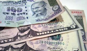 rupee up 5 paise against dollar in early trade -...